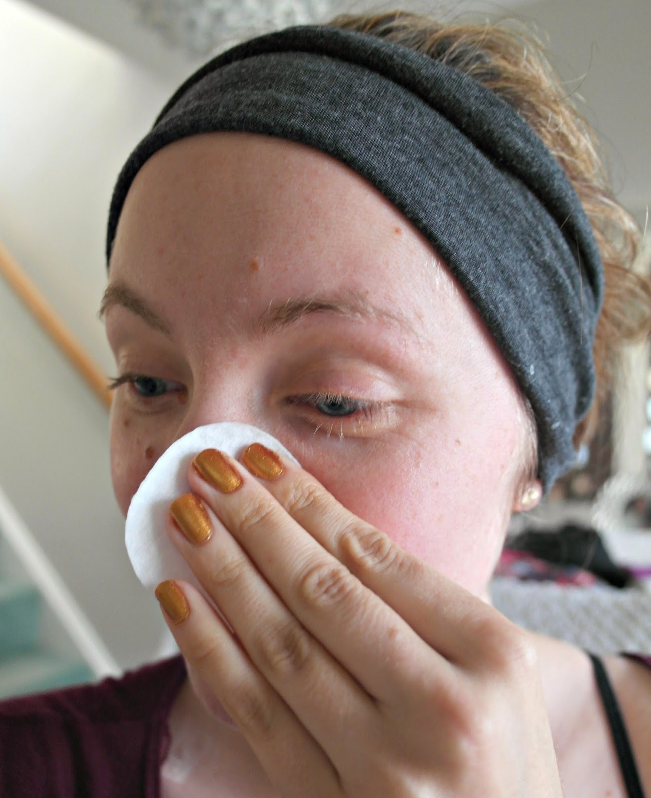 Firming facial pads exfoliating denese