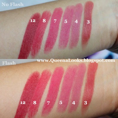 QueenaLooks Review Wardah Long Lasting Lipstick