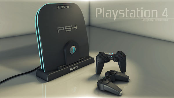 Dazzling Design of PS4