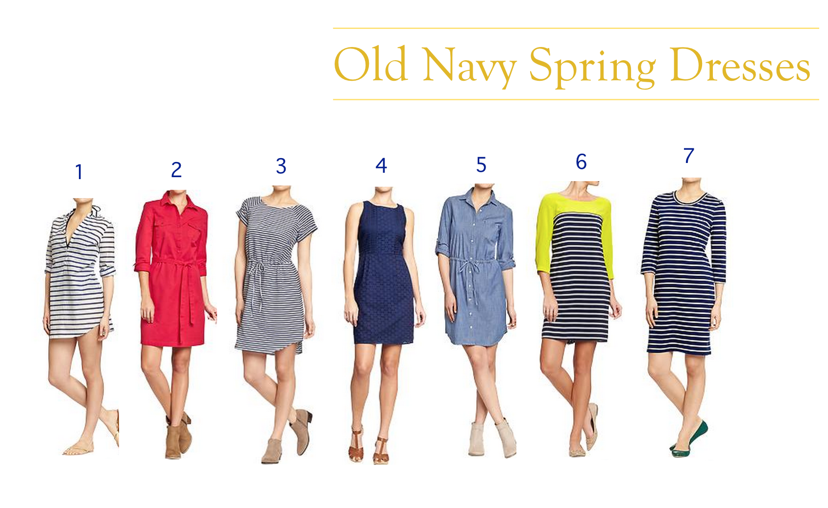 Elise Marie Goes on a Shopping Spree: Old Navy Spring Dresses