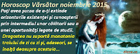 Horoscop Vărsător noiembrie 2015