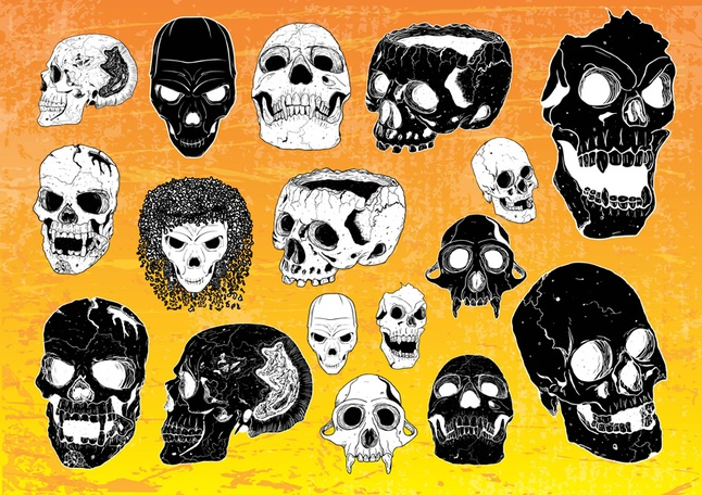 Free Horror Vectors Graphics