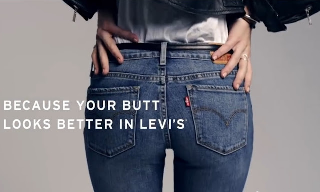Better Butt in Levi's