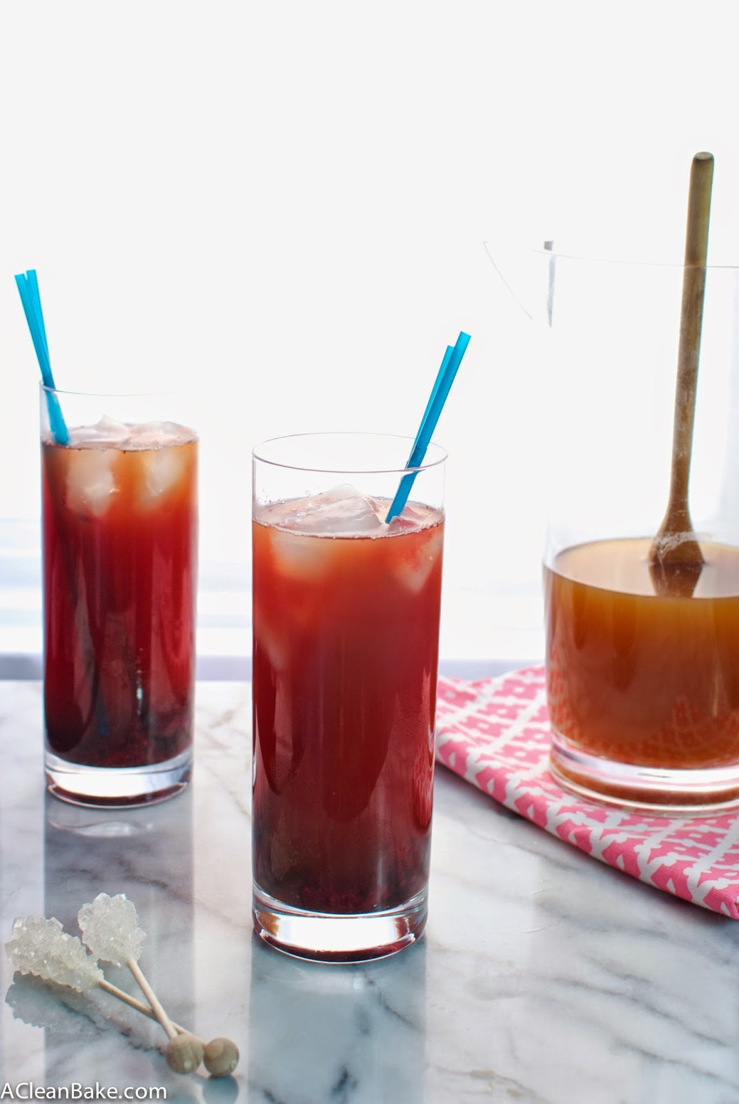 Muddled Berry Arnold Palmers