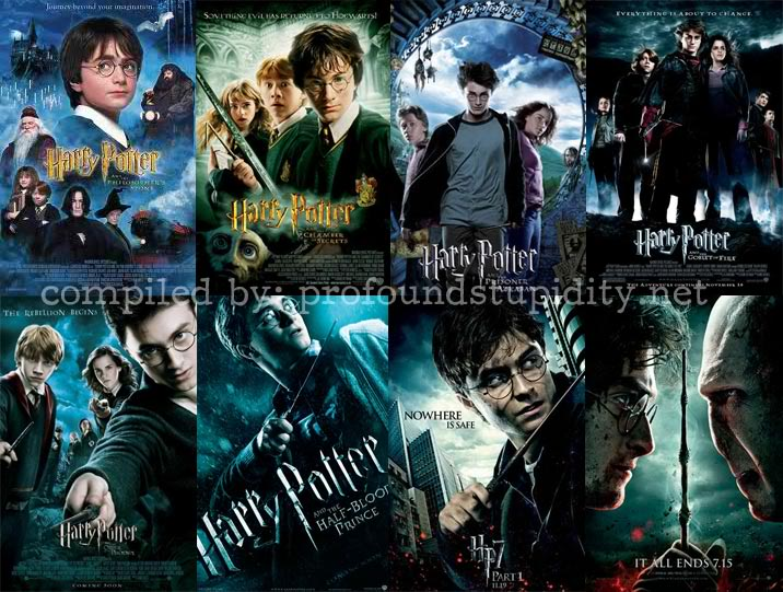 Star Zone: HARRY POTTER LA EVOLUCION