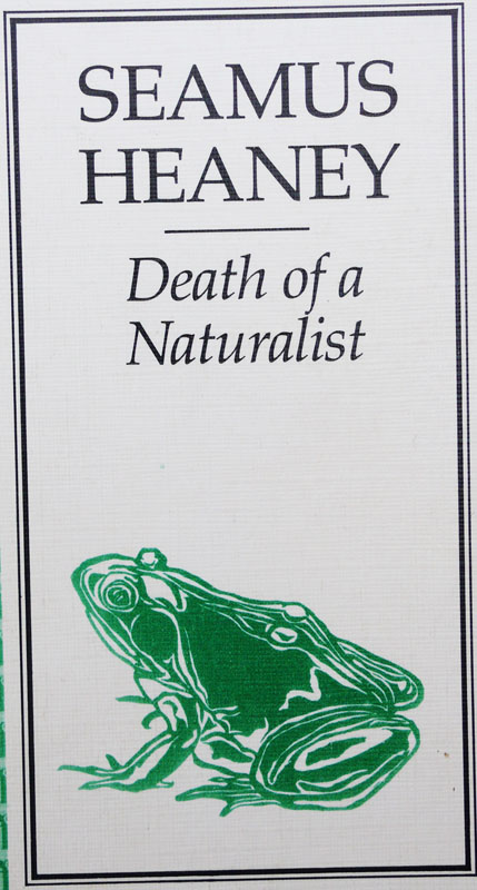 death of a naturalist essay