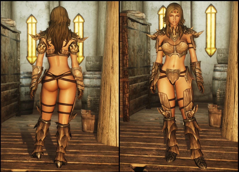 Sexy armor mods sex clip