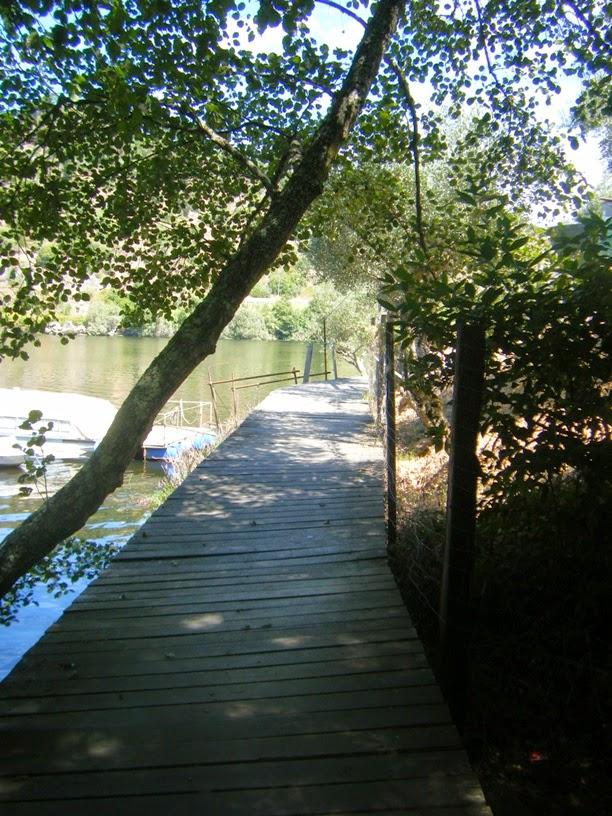 Zona de Percurso Pedestre que leva a barragem de Belver