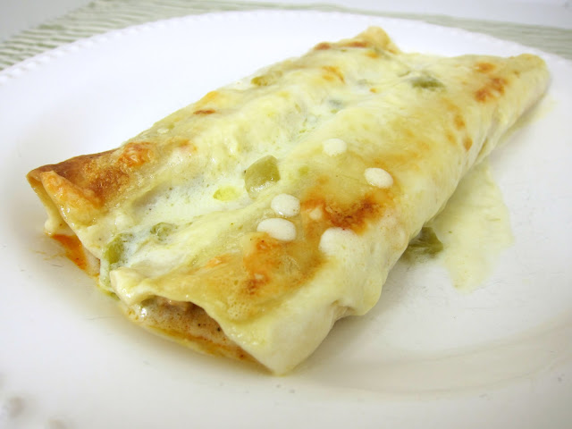 White Chicken Enchiladas - went to a dinner party last weekend had these enchiladas. They were SO good! SO creamy and delicious! No Cream of Anything Soup in them either! Wishing I had some leftovers for dinner tonight.