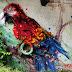 Bordalo II y sus murales ecológicos hechos con basura 3D