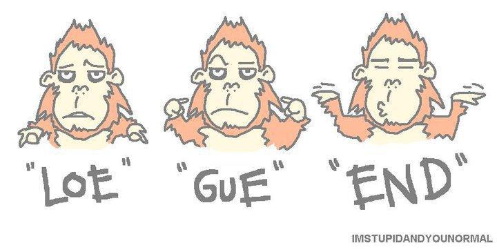 Emotion yang lagi ngetrend buat status FB atau twett ( Emotion LO GUE