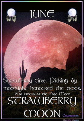 Join Us for the Solstice Full Moon Distant Healing Event on Monday, 20 June 2016 Strawberry%2Bmoon
