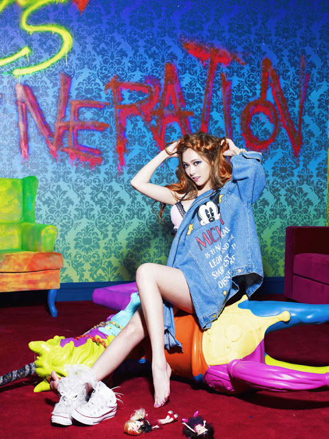 SNSD JESSICA 'I Got a Boy' 2013 Album Picture