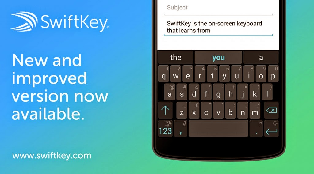 SwiftKey Keyboard App Update