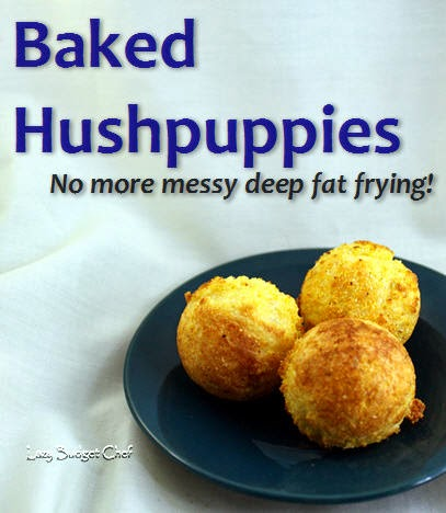 Baked Hush Puppies @ Lazy Budget Chef