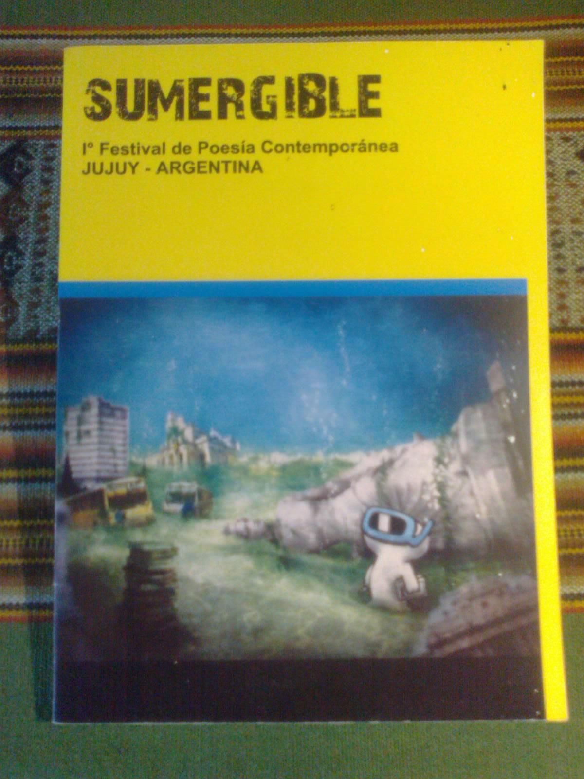 """Sumergible"", 1er. Festival de Poesía Contemporánea, Ediunju, 2012."