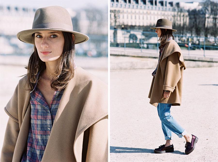 Vanessa Jackman: Paris Fashion Week AW 2014.Helena