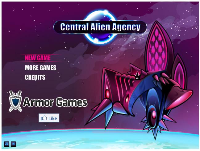 Armor Game : Central Alien Agency