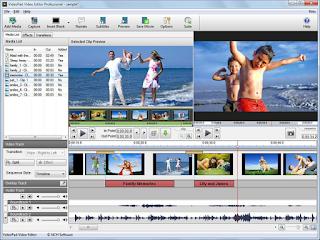 برنامج التعديل على الفيديوهات برنامج videopad video editor اخر اصدار 2016