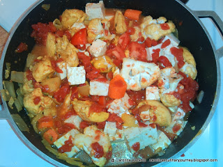Chicken with Tofu and Vegetables