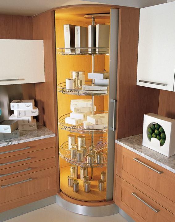 I d e a soluciones para cocinas que hacen esquina for Muebles de esquina para cocina