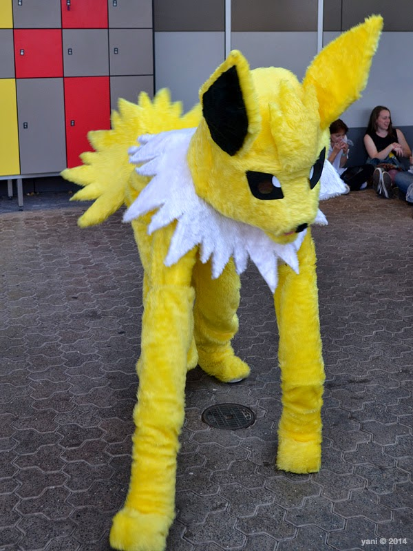 oz comic-con adelaide - jolteon