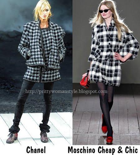 карирани костюми късо сако с къса пола Есен-Зима 2011-2012