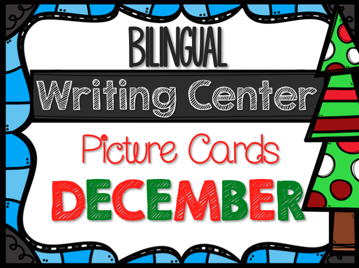 Bilingual Writing Center Picture Cards