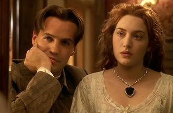 Titanic Famous FIctional Necklace