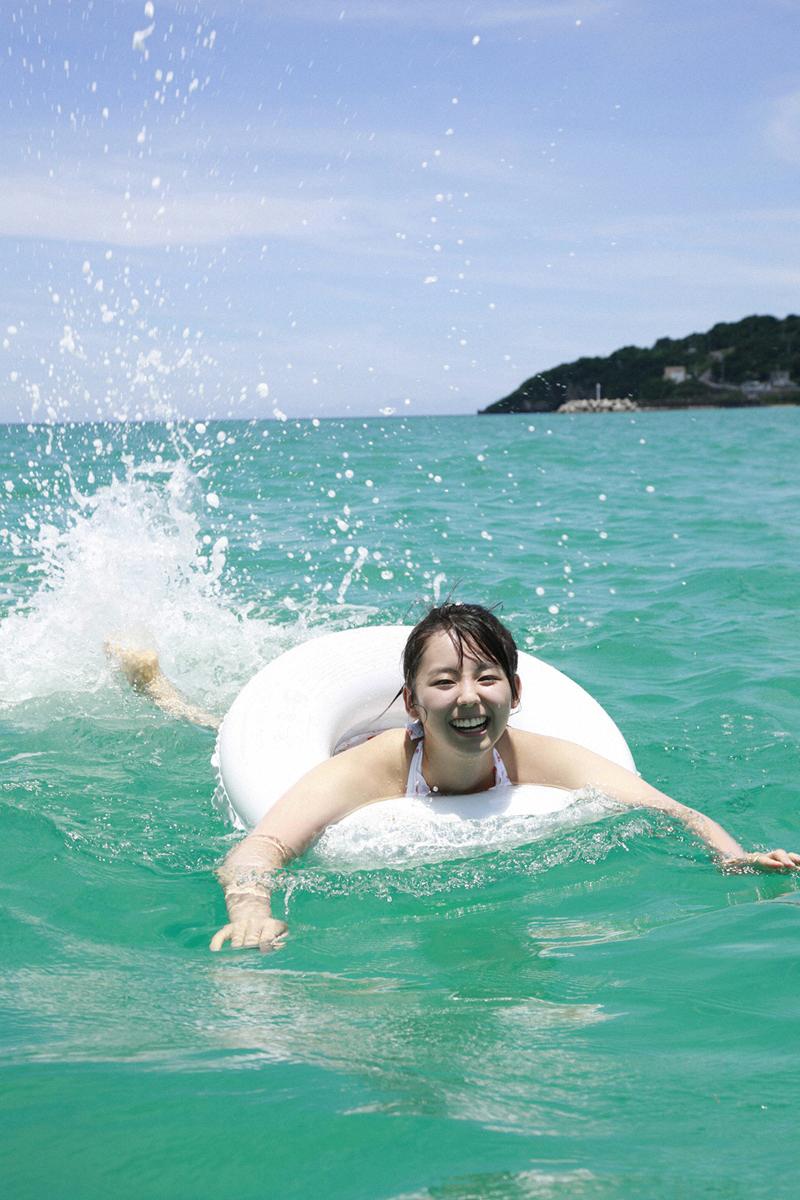 rina koike sexy beach bikini photo 02