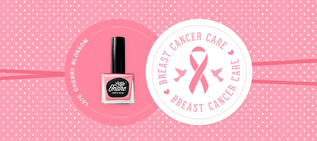 Little Ondine Cherry Blossoms and Pink Ribbon Foundation Breast Cancer Care
