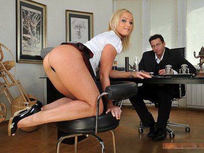 Blonde Anal Fucked