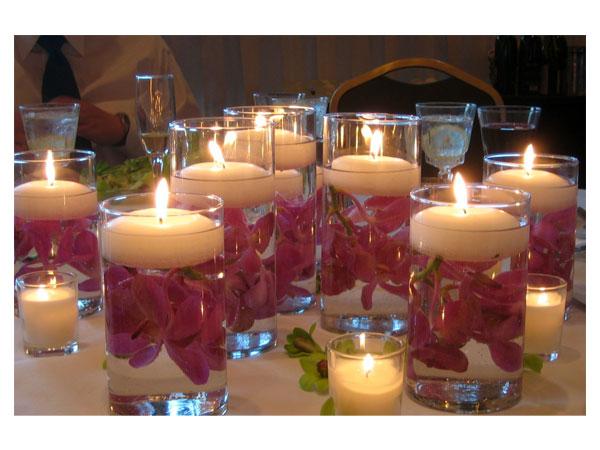 Ba de plim plim ideias baratas e criativas para for Decorar jarrones con velas