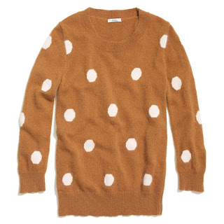 MADEWELL SPOTTED SNOWFALL SWEATER