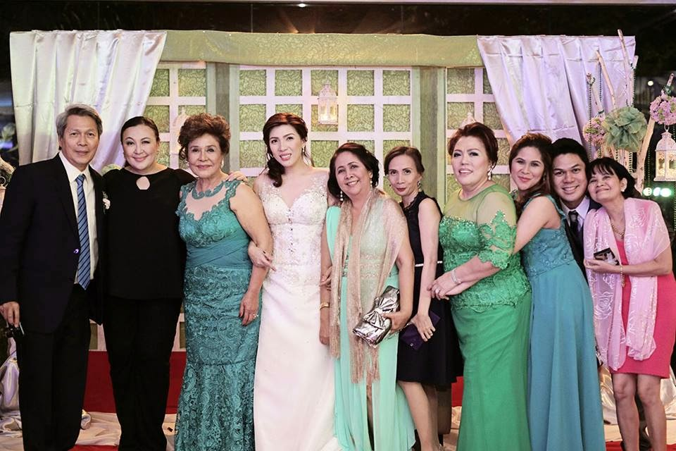 Photos Sharon Cuneta Attended Her Cousins Wedding On October 25 2014