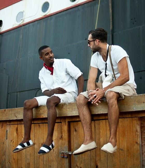 Men's espadrilles: alpargatas masculinas