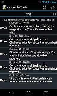 castleville newsreader app