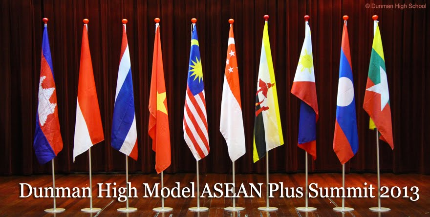 Dunman High Model ASEAN Plus Summit 2013