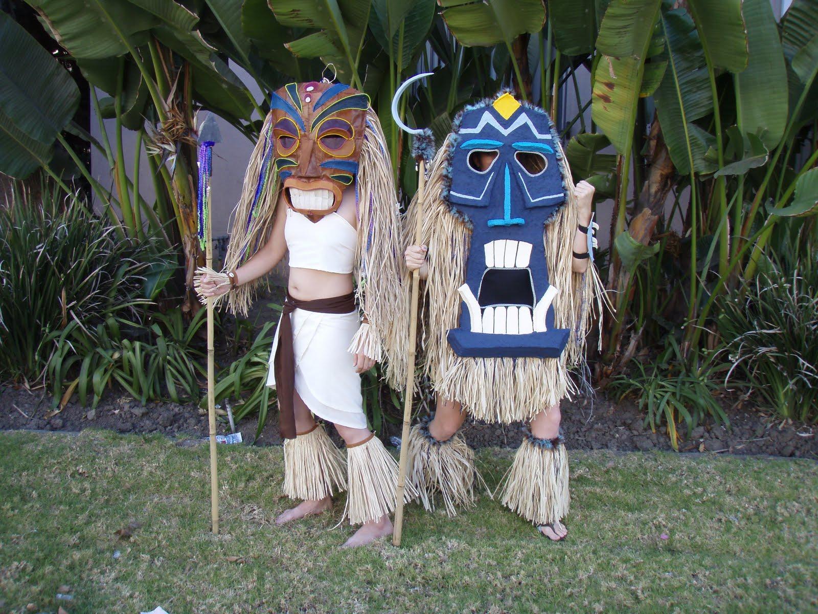 Luau hawaiano en el giner los tikis for Tiki hawaiano
