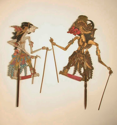 wayang kulit, Indonesia  shadow puppet