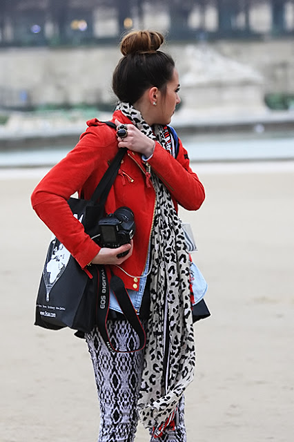 Street style photography from Paris