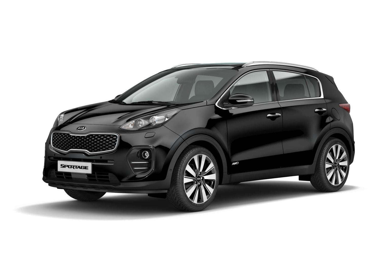 2016 kia sportage black 200 interior and exterior images