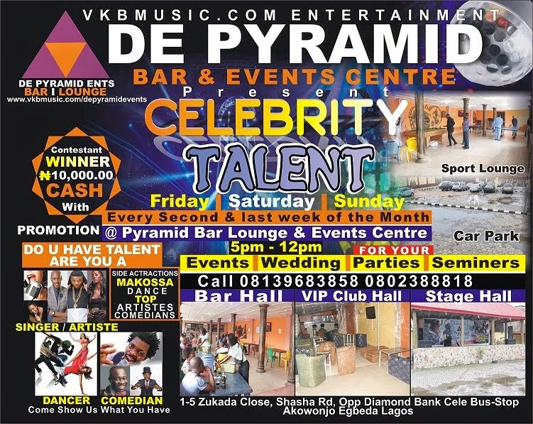 DE PYRAMID BAR LOUNGE AND EVENT CENTRE