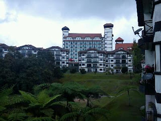 Heritage Hotel view from Greenhill Apartment