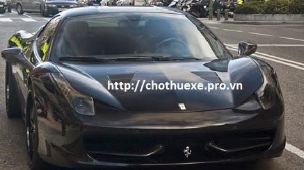 Cho thuê siêu xe Ferrari 458 Italia
