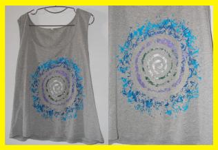 Camisetas hechas con cera