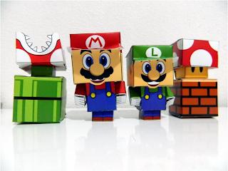 Papercrafts Mario