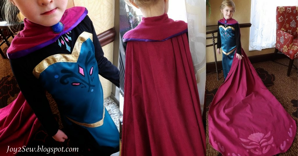 Elsa Coronation Dress Pattern