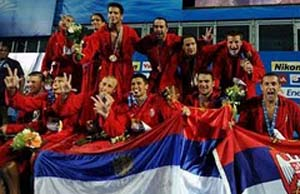 Serbia - World Champion Men, Rome 2009