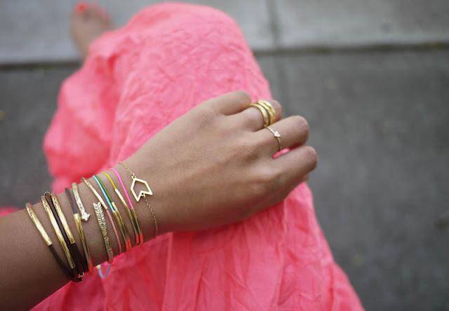 pulseras doradas gold bracelets